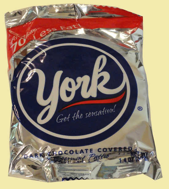 York Peppermint Pattie. Dark Chocolate Covered Peppermint Pattie. Best ...